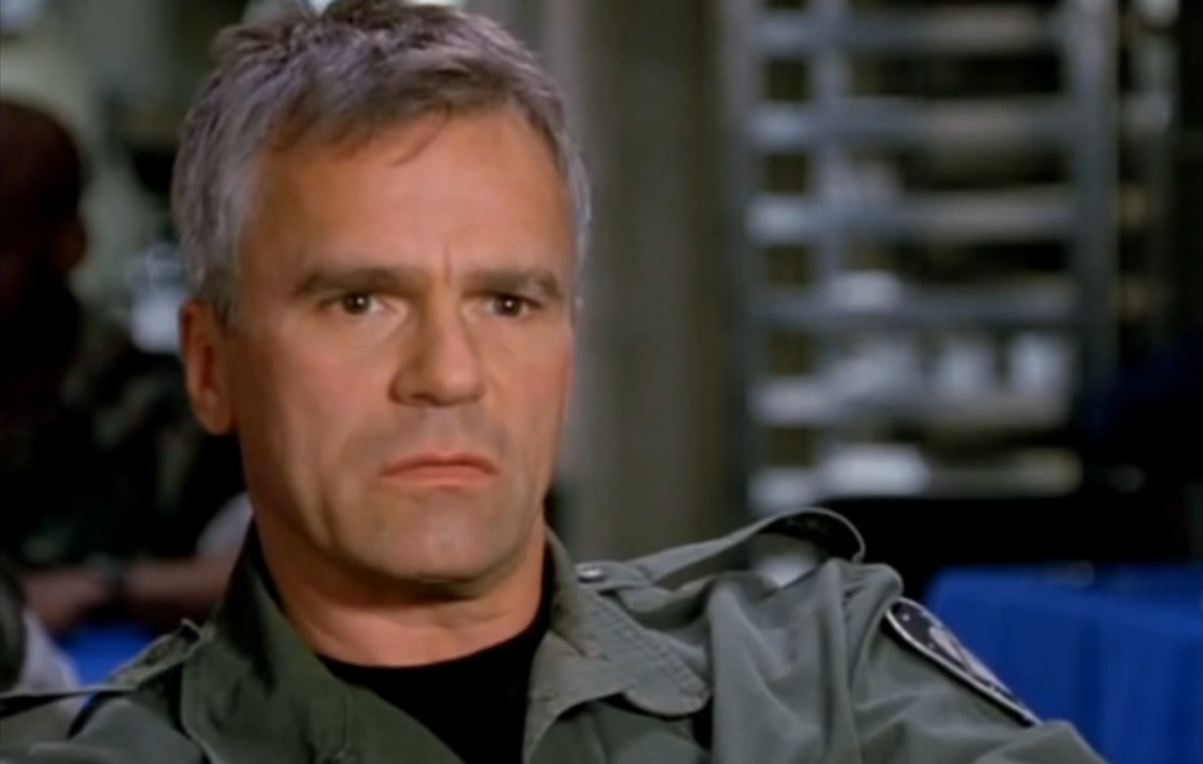 """That's Colonel MacGyver to you."""