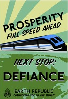 Defiance Train Poster