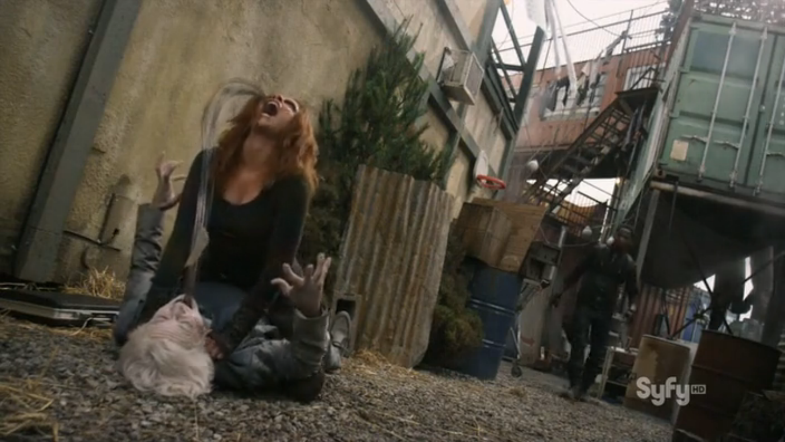 Damn it, Irisa! He just had that outfit dry cleaned.