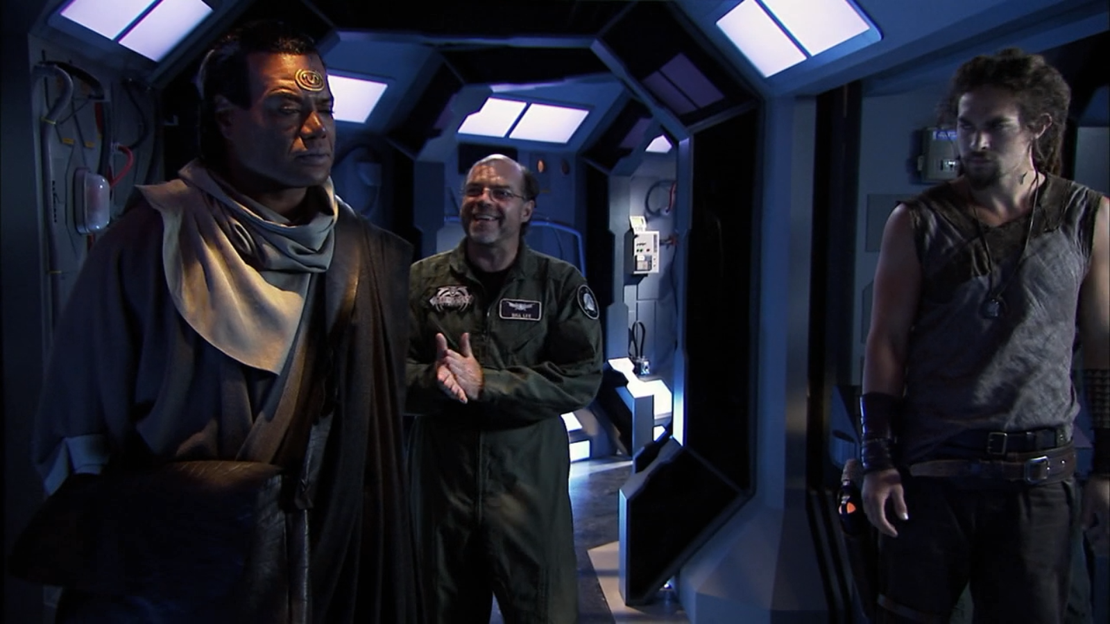 Teal'c and Ronon didn't like each other much at first, which made the eventual team up all the more enjoyable.