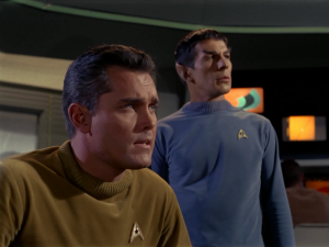 "Pike's footage was recycled in ""The Menagerie,"" which helped cement Spock's loyalty to his captain even above his duty."
