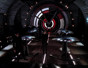 The Peacekeepers, one of the major forces in Farscape, are heavily Nazi-influenced.