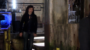 Torchwood's first series is probably the strangest mix of camp and dead straight drama ever.