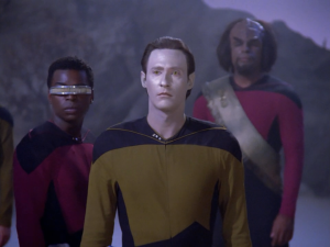 Heck, Data's the good twin and even he's gone crazy like 5 times.