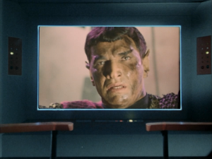 It doesn't hurt that he's played by Mark Lenard, better known as Spock's dad, Sarek.