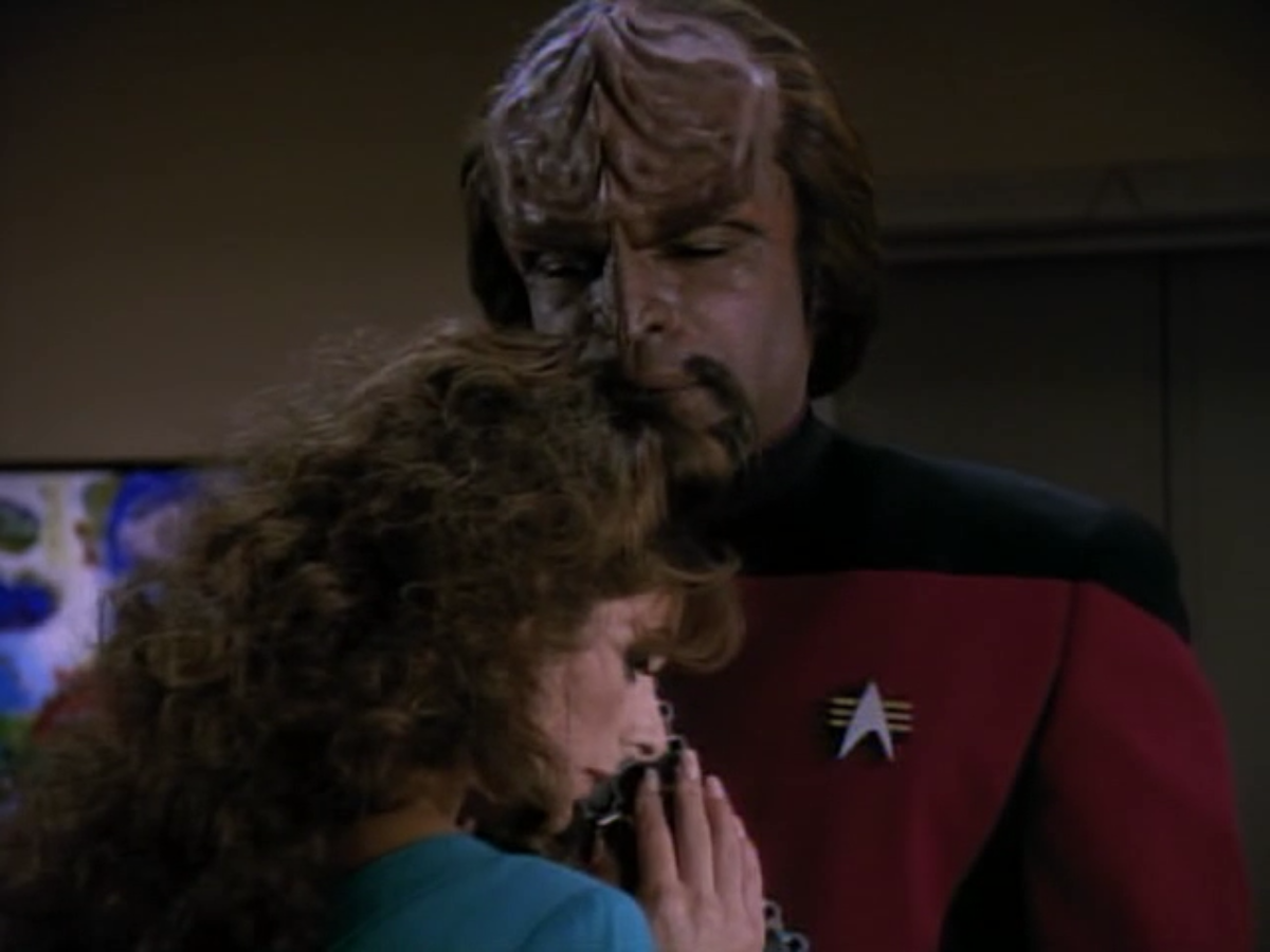 star trek worf and troi relationship