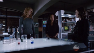 May and Simmons' trust in Coulson is probably a little shaken.