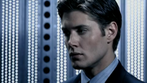 Jensen Ackles as Alec.
