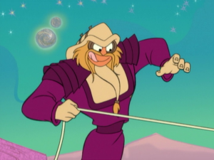 You know, D'Argo actually makes a pretty great Looney Tunes character.