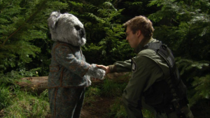 "The joke appearance in ""200"" just fully embraced the Ewok vibe."