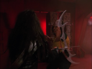 Worf Fights