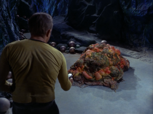 Star Trek doesn't hunt the monster; it strives to understand it.