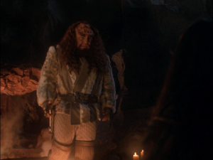 The Klingon equivalent of Jesus was a great target.