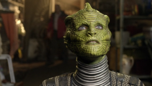 Doctor Who Silurian Earth Alien