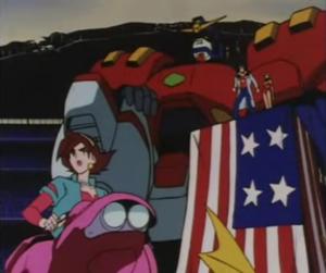 G Gundam AMERICA