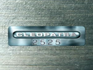 Cleopatra 2525 title
