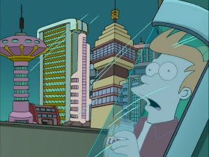 Futurama Cryogenic Freezing