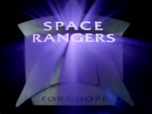space rangers title card