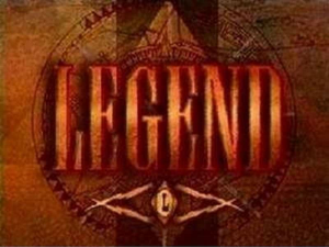 Legend 1995 TV title card