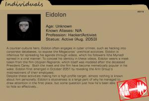 Eidolon-Dossier